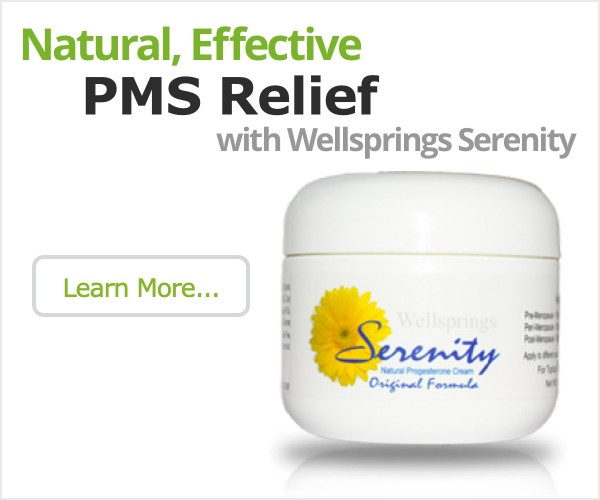 Try Wellsprings Serenity for PMS