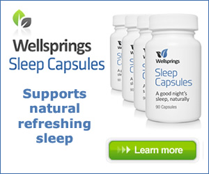 Try Wellsprings Sleep Capsules